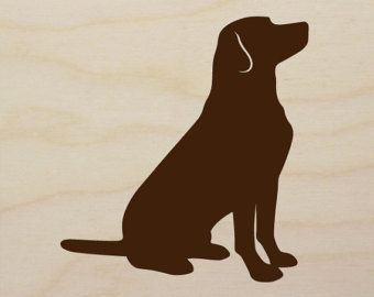 Chocolate lab clipart free image black and white library Chocolate lab clipart - Clip Art Library image black and white library