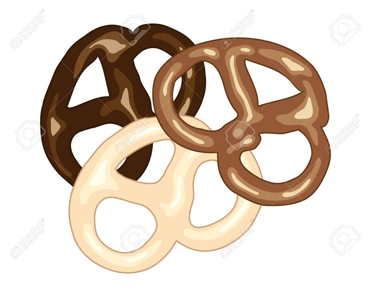 Chocolate pretzels clipart svg library Chocolate pretzels » Clipart Portal svg library