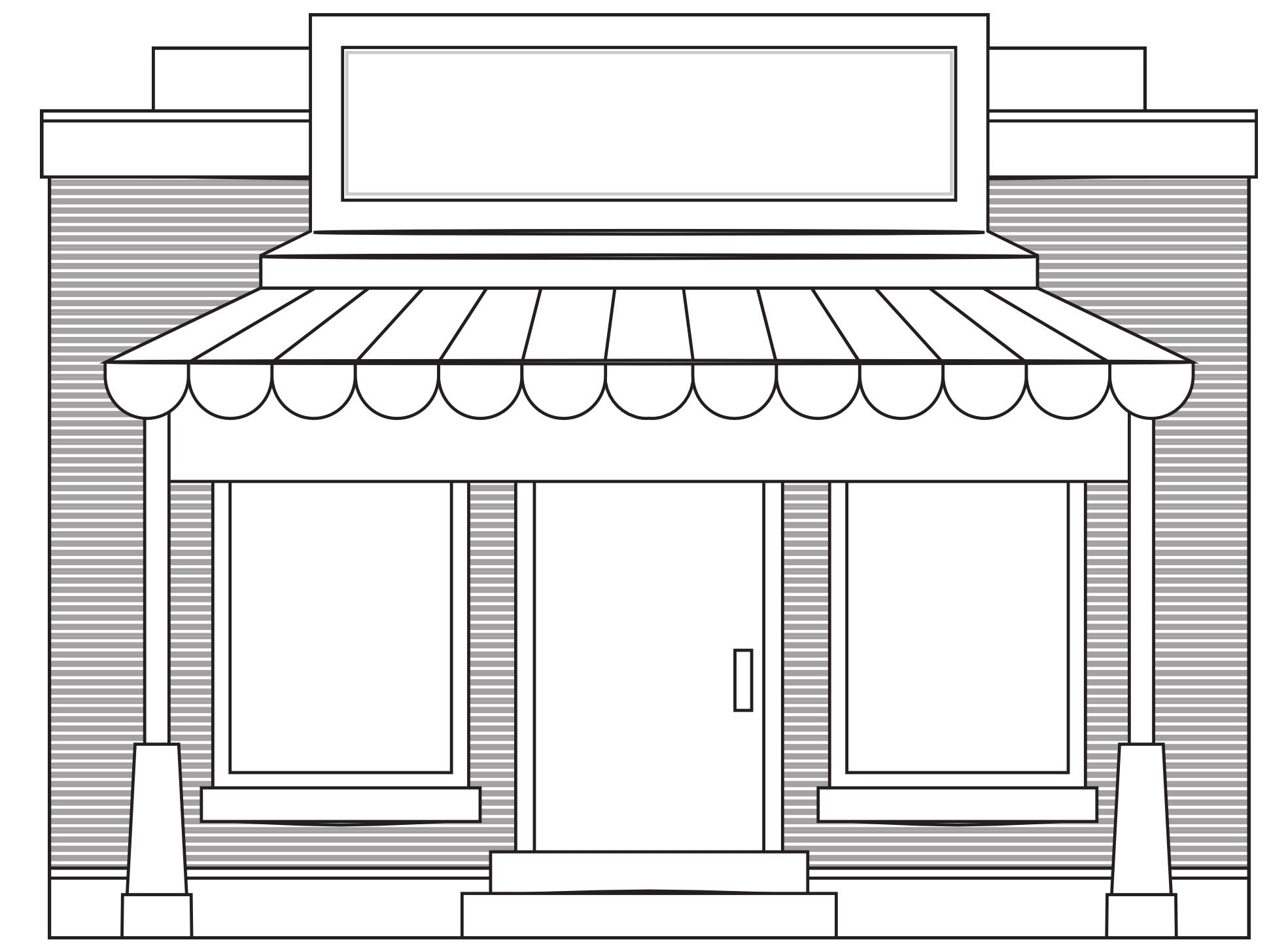 Sari sari store clipart black and white clip library library Free Store Cliparts, Download Free Clip Art, Free Clip Art on ... clip library library