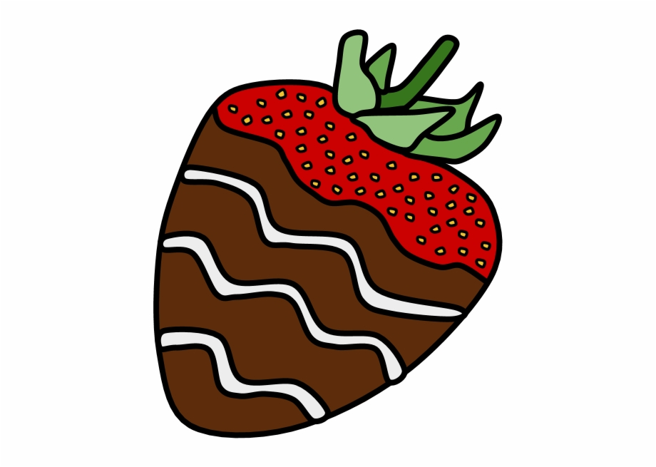 Clipart chocolate covered strawberries banner freeuse Chocolate Dipped Strawberries Free PNG Images & Clipart Download ... banner freeuse