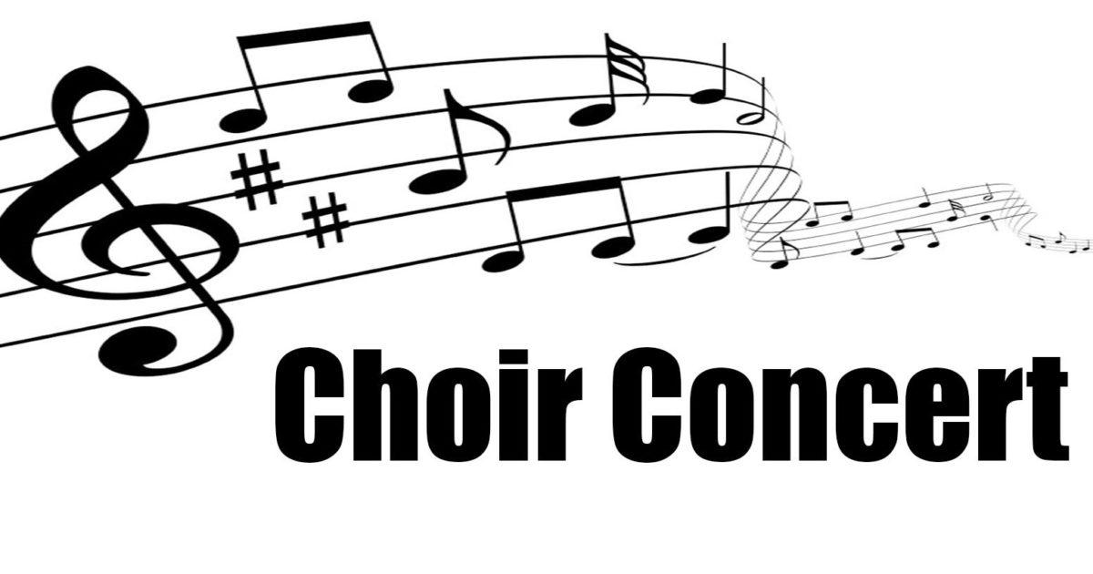 Choir concert clipart clipart black and white Choir-Concert - Travis Intermediate clipart black and white