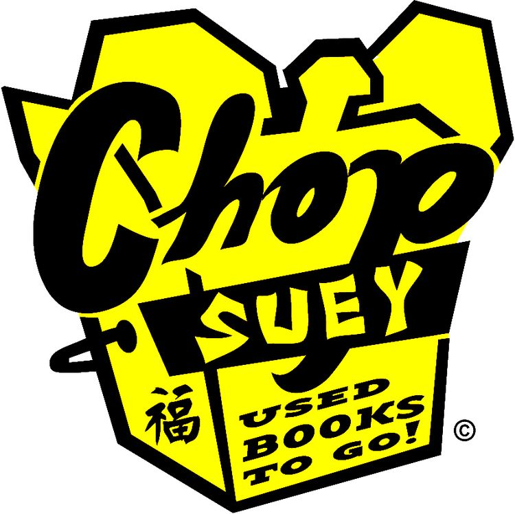 Chop suey clipart picture royalty free library Chop Suey Books - Used & New | RVA Carytown | Chop suey, Books, Logos picture royalty free library
