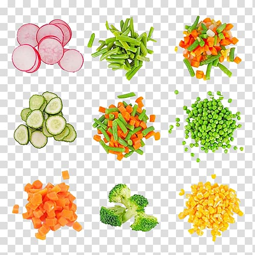 Chopped vegetables clipart picture library Sliced vegetable lot illustration, Carrot Vegetarian cuisine ... picture library