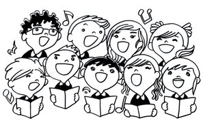 Choral reading clipart clip art freeuse library Chorus clipart choral reading, Chorus choral reading Transparent ... clip art freeuse library