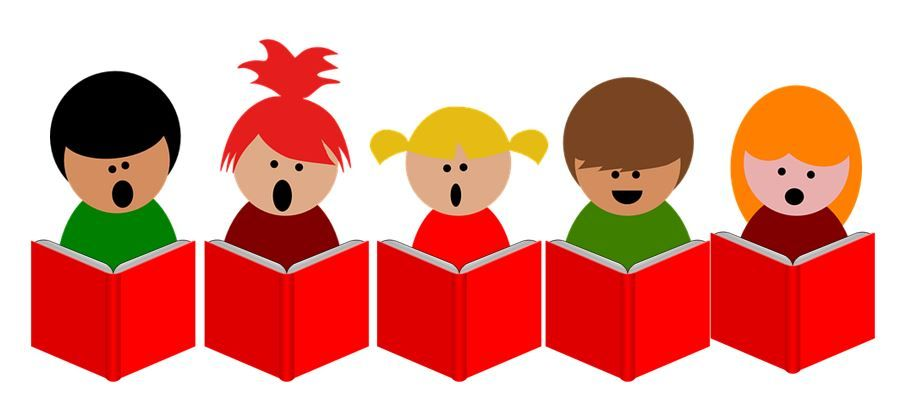 Choral reading clipart jpg free Choral reading is when a group of students read in unison. When ... jpg free