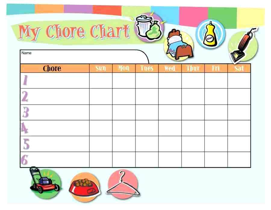 Chore chart images clipart banner transparent library printable chore chart graphics – atlaselevator.co banner transparent library