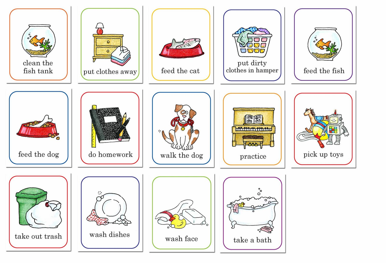 Chore chart images clipart jpg royalty free stock 60+ Chore Chart Clip Art | ClipartLook jpg royalty free stock