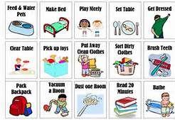 Kids chores clipart jpg transparent Free Printable Chore Clip Art - Bing Images | Chore Chart | Chores ... jpg transparent