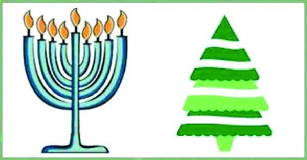 Chrisstmas and hannukah clipart clip art download Christmas and Hanukkah Pictures   Libridacqua clip art download