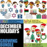 Chrisstmas and hannukah clipart svg transparent stock Clip Art Hanukkah & Worksheets   Teachers Pay Teachers svg transparent stock