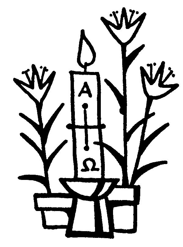 Easter vigil clipart clip stock Free Easter Candle Cliparts, Download Free Clip Art, Free Clip Art ... clip stock