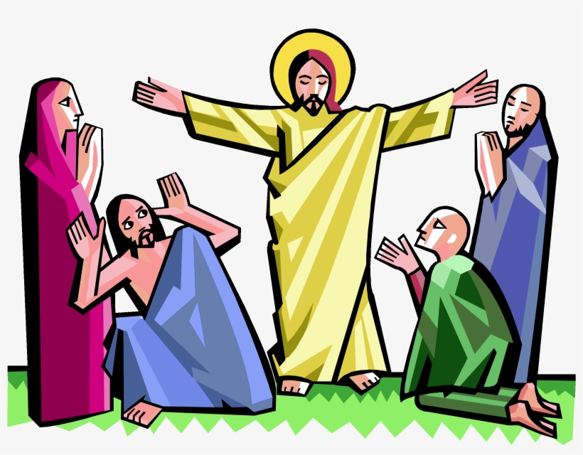 Clipart easter jesus picture freeuse Faith In Jesus Clipart - Easter Jesus Resurrection Clipart - Free ... picture freeuse