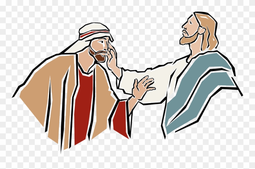 Free clipart of jesus healing the sick svg royalty free stock Healing Clipart Jesus Heals - Jesus Heals A Blind Man Clipart - Png ... svg royalty free stock