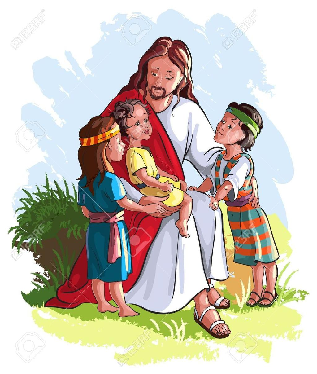 Christ with children clipart picture transparent Free Jesus And Child Clipart Christ - Clipart1001 - Free Cliparts picture transparent