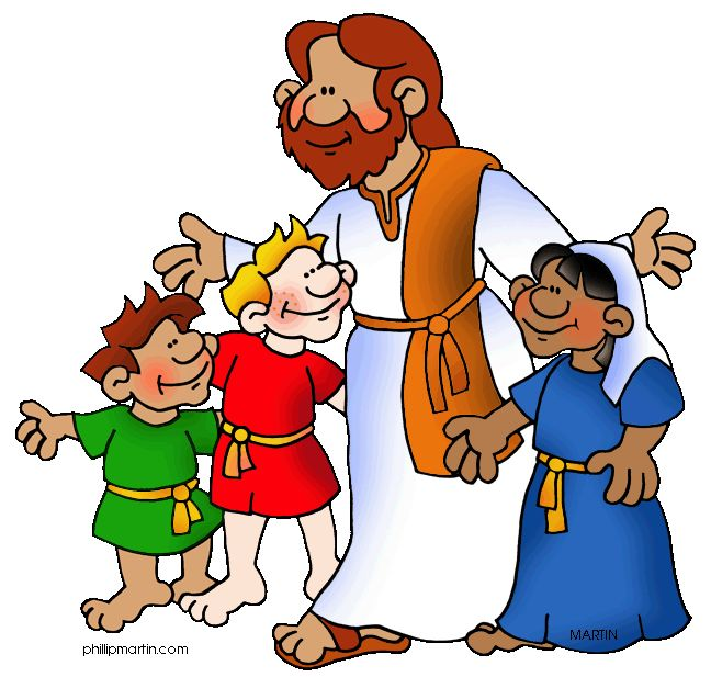 Christ with children clipart jpg free Kids Church Clipart | Free download best Kids Church Clipart on ... jpg free