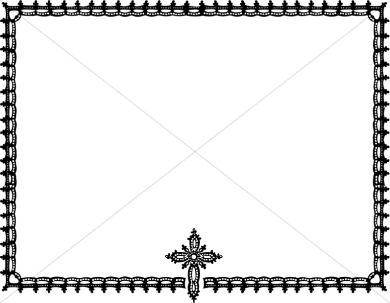 Religious clipart borders and frames svg black and white Religious Clipart Borders | Free download best Religious Clipart ... svg black and white