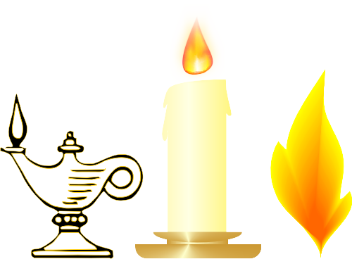 Christian candles clipart vector royalty free library Take an Illustrated Tour of Christian Symbols | God and Jesus ... vector royalty free library