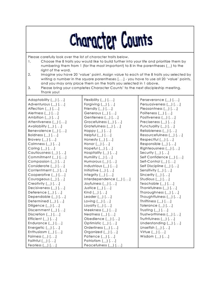 Christian character traits clipart vector transparent stock christian character traits with scripture ref | Items ship free ... vector transparent stock
