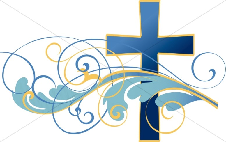 Christian clipart websites banner royalty free Swirls and Christian Cross Clipart | Cross Clipart banner royalty free
