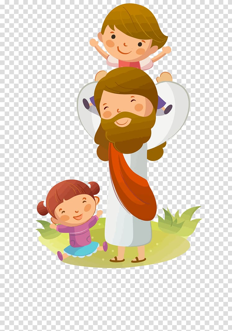 Christian clipart increasing in love for god jpg royalty free library Jesus Bible God the Father Religion, Jesus transparent background ... jpg royalty free library