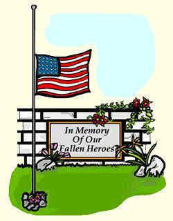 Christian clipart memorial day