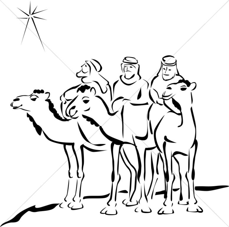 Free 3 wise men clipart black and white vector free stock Free 3 Wise Men Cliparts, Download Free Clip Art, Free Clip Art on ... vector free stock