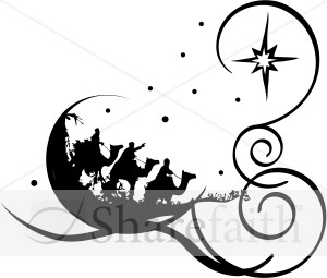 Free christian christmas graphics clipart svg freeuse download Nativity Clipart Black And White Free | Free download best Nativity ... svg freeuse download