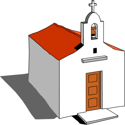 Christian clipart public domain church with sun graphic freeuse Free church graphics clipart image 8 - Clipartix graphic freeuse