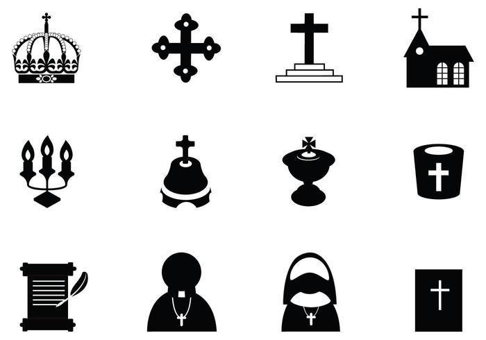 Christian clipart vector pack