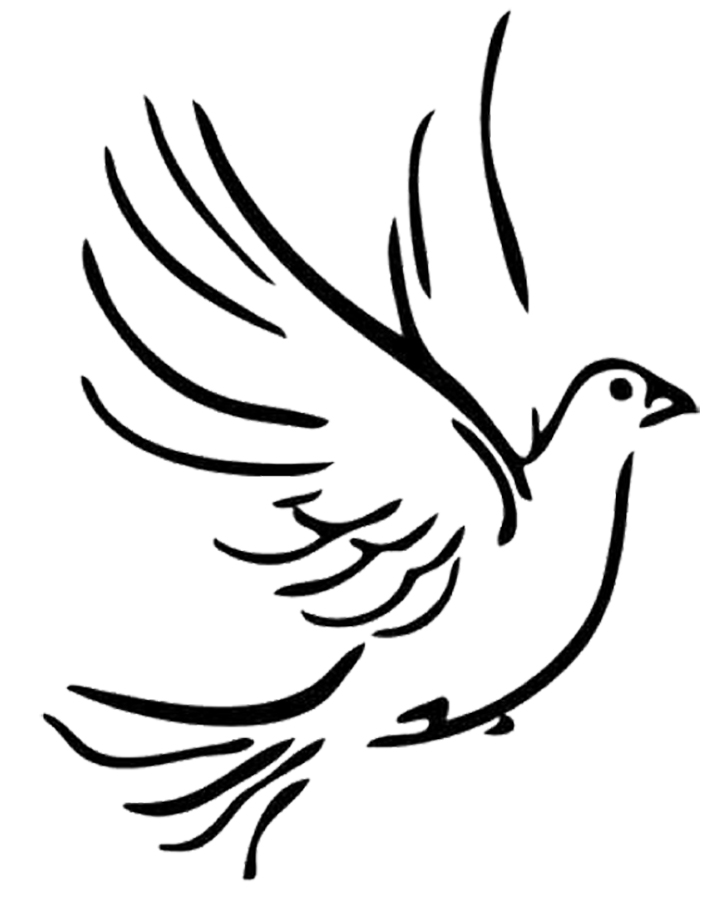 Christian dove clipart image black and white library Free Cross And Dove Pictures, Download Free Clip Art, Free Clip Art ... image black and white library