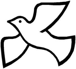 Holy spirit clipart black and white download Christian Dove Clipart | Clipart Panda - Free Clipart Images black and white download