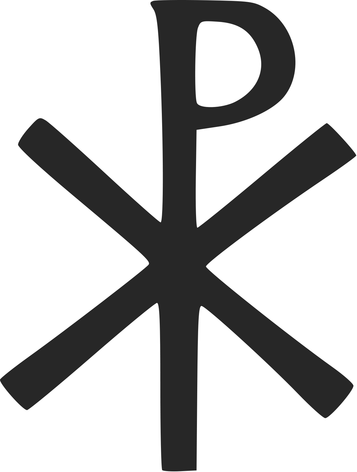 Orthodox cross clipart royalty free stock Link: Chi Rho symbol.