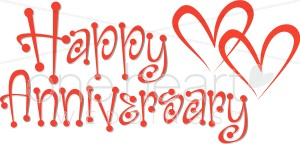 Christian happy anniversary clipart banner black and white stock Happy Marriage Anniversary Clipart banner black and white stock