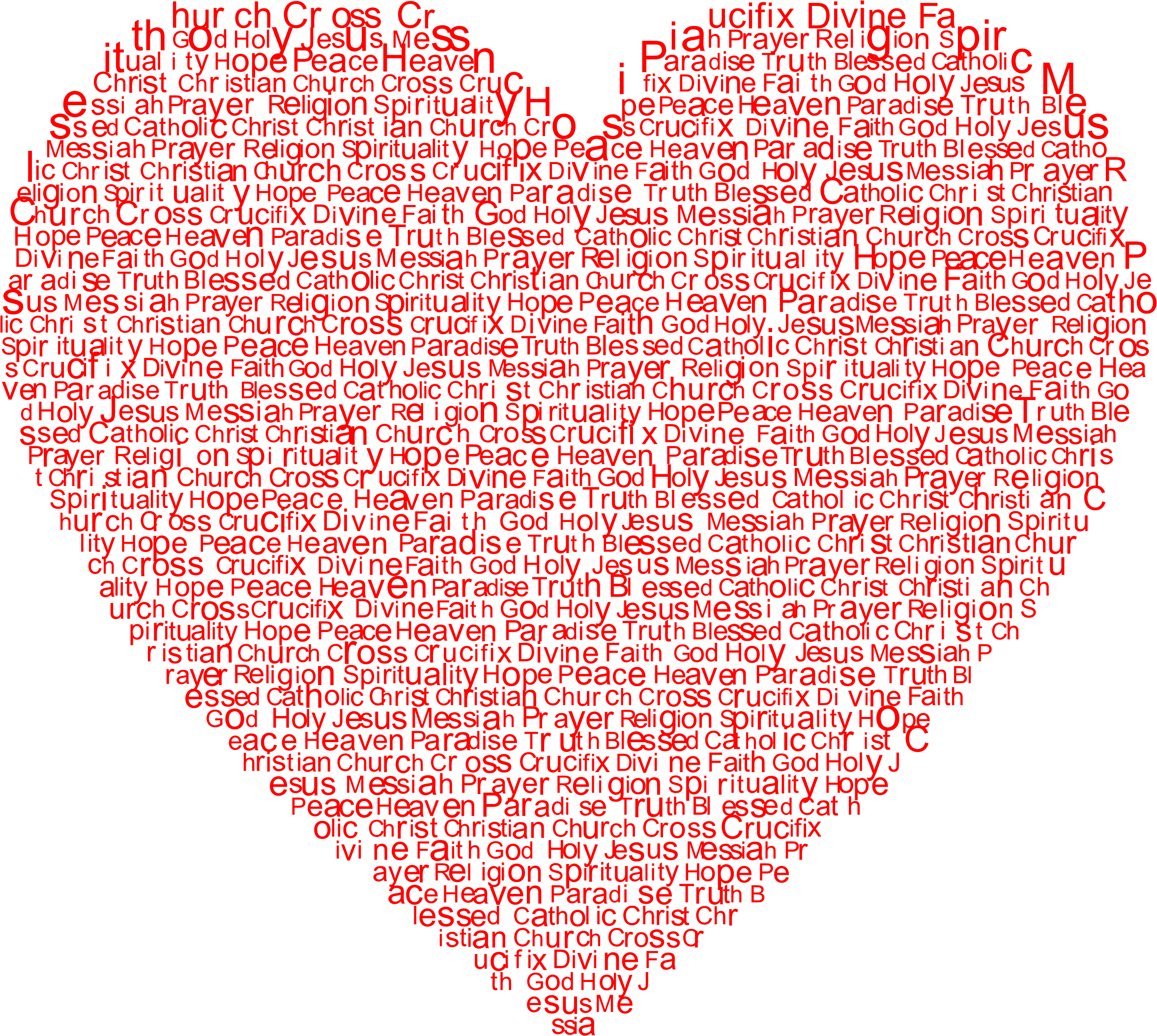 Cross in heart clipart clipart royalty free stock Clipart - Jesus Heart clipart royalty free stock