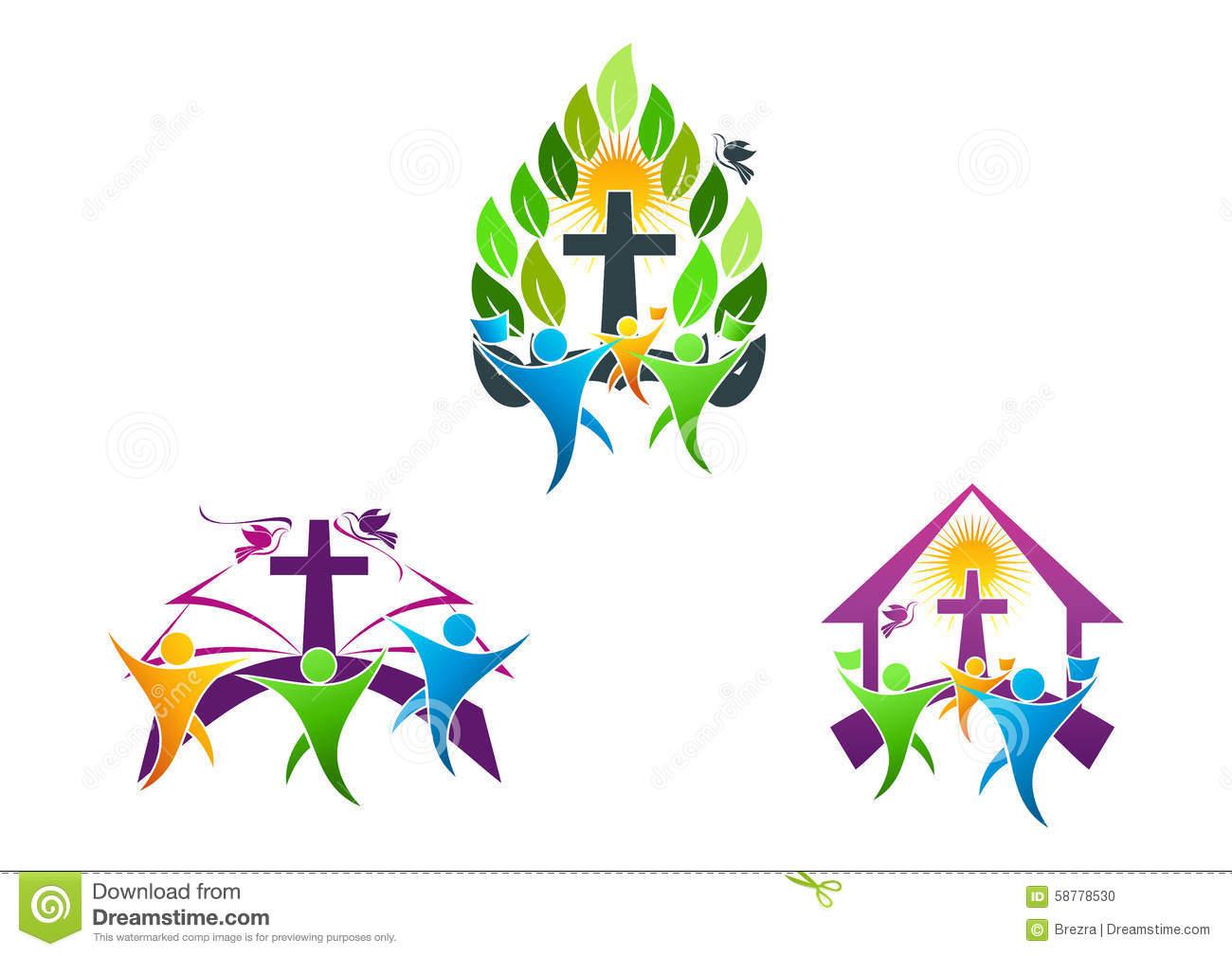 Christian logo clipart freeuse stock Christian Family Clipart   Free download best Christian Family ... freeuse stock