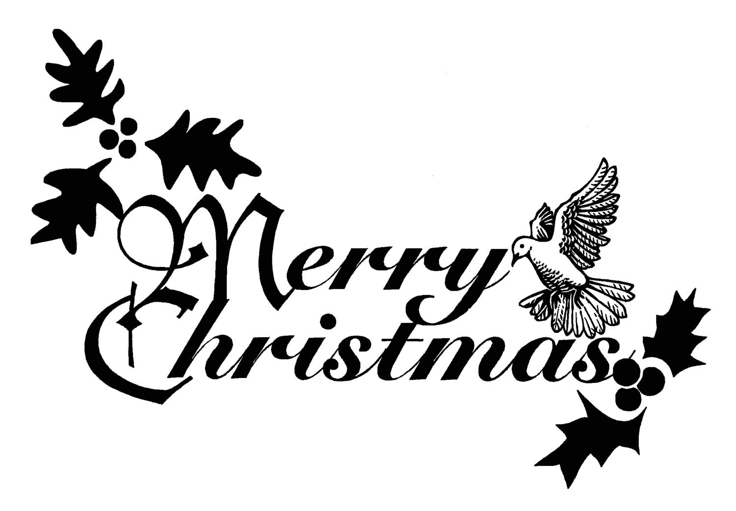 Merry christmas words clipart picture Christian Merry Christmas Clipart | Clipart Panda - Free Clipart Images picture