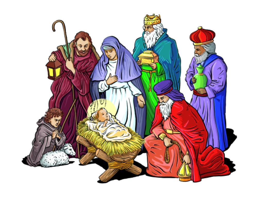 Christian nativity clipart free freeuse stock Free christmas nativity clipart 6 » Clipart Station freeuse stock