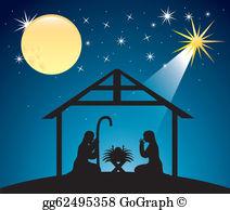 Christmas scene clipart free clip art Nativity Scene Clip Art - Royalty Free - GoGraph clip art
