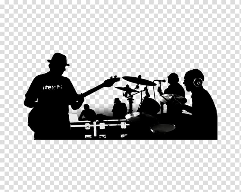 Christian rock cliparts graphic free library Silhouette of band playing illustration, Rock Band Musical ensemble ... graphic free library