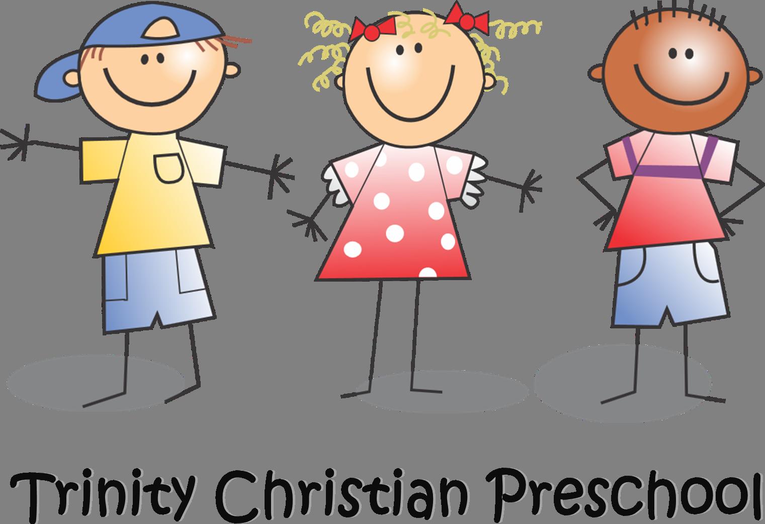 Pre school children clipart banner royalty free stock Dear Prospective Preschool Parents | Trinity Christian School banner royalty free stock