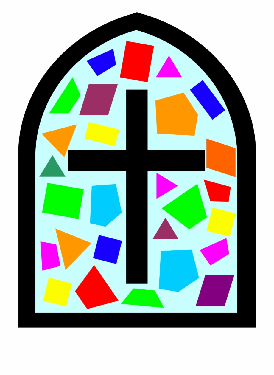 Clipart stained glass window