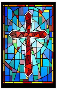 Christian stained glass clipart png royalty free download Church Stained Glass Window Clipart | Free Images at Clker.com ... png royalty free download