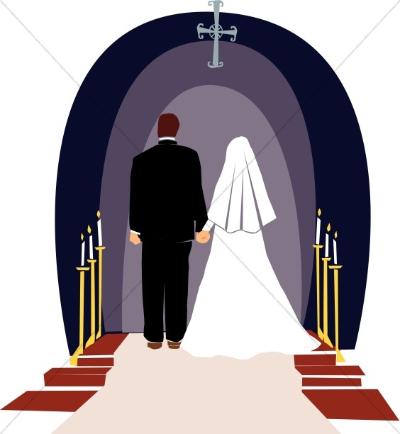 Wedding ceremony clipart image download Religious Wedding Ceremony | Christian Wedding Clipart image download