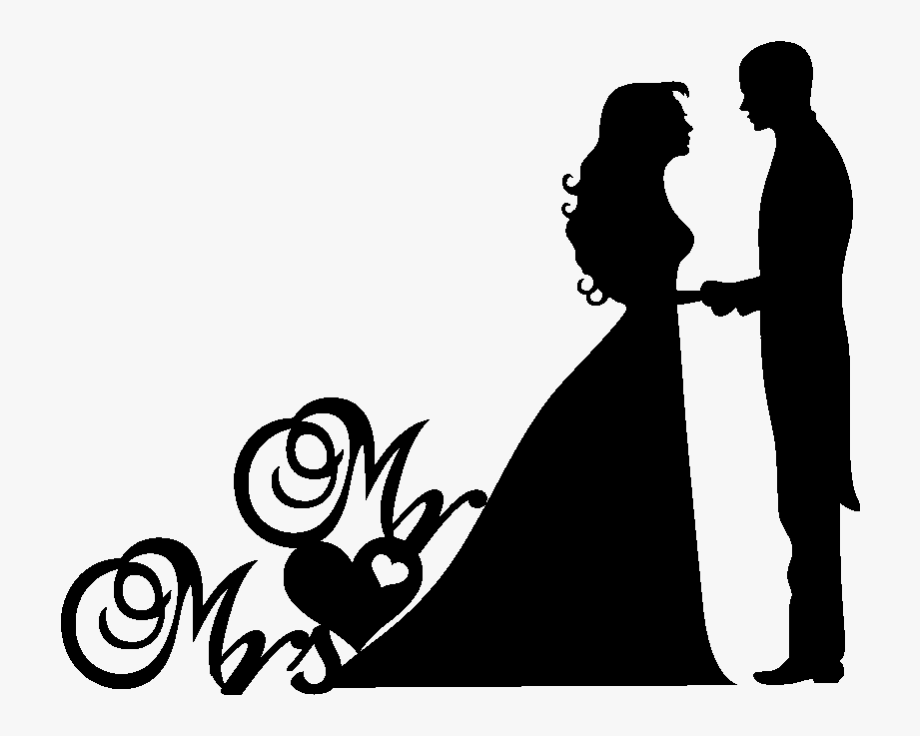Wedding clipart couple clip freeuse download Wedding Couple Clipart Png , Png Download - Christian Wedding ... clip freeuse download