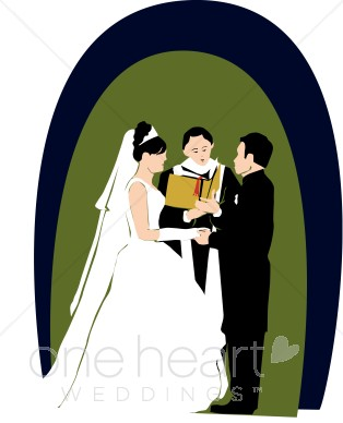 Wedding ceremony church clipart image free library Religious Wedding Clipart | Couples Clipart image free library