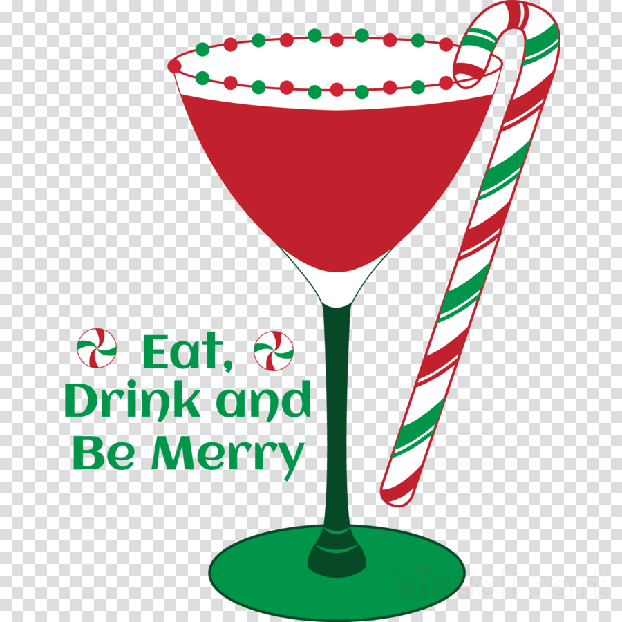 Christimas cocktail clipart clip free library Christmas Party clipart - Martini, Cocktail, Drink, transparent clip art clip free library
