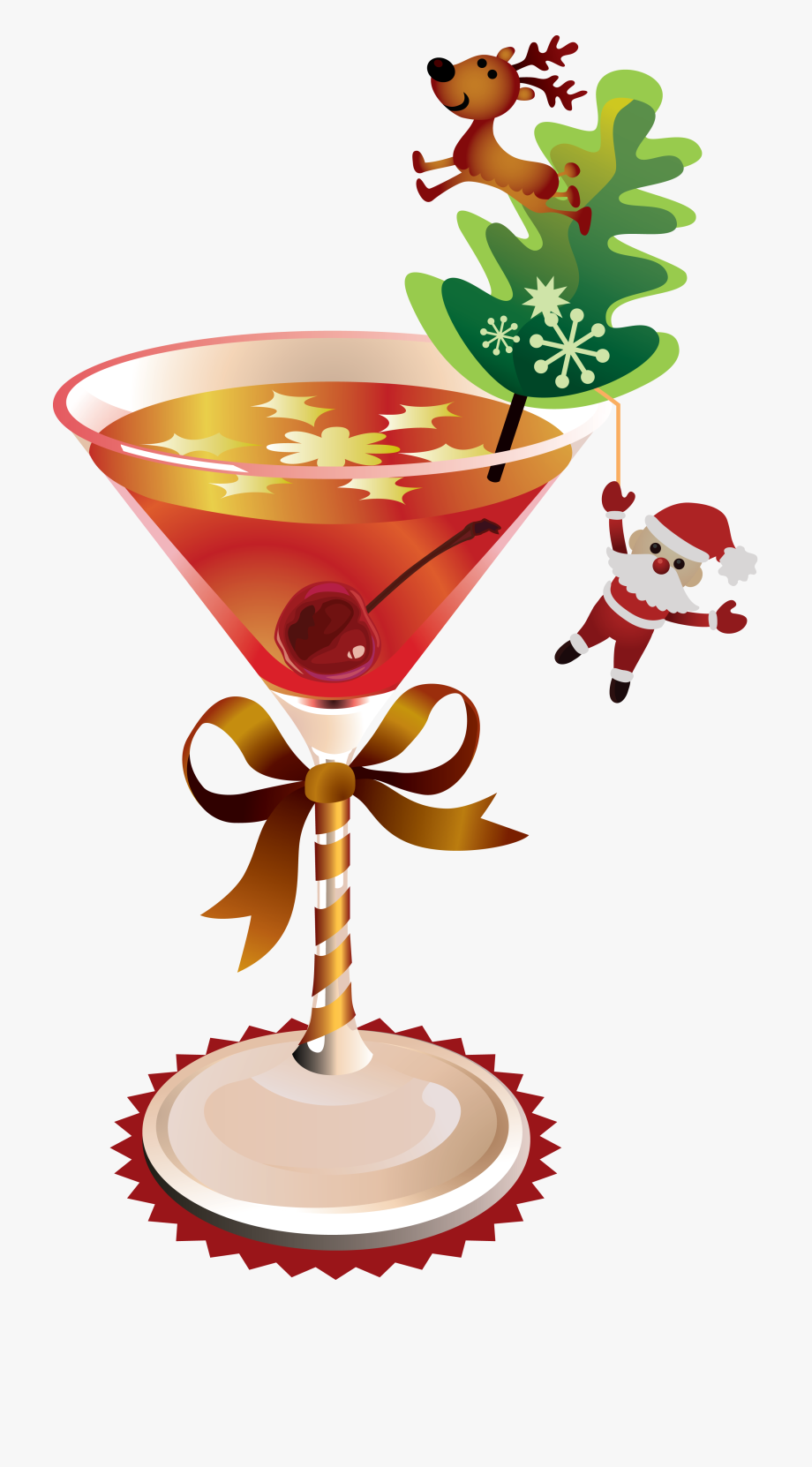 Christimas cocktail clipart image free download Margarita, Martini, Weapon, Cocktails, Glass, Laminas - Christmas ... image free download