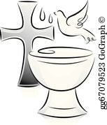 Christineng clipart black and white png freeuse stock Baptism Clip Art - Royalty Free - GoGraph png freeuse stock