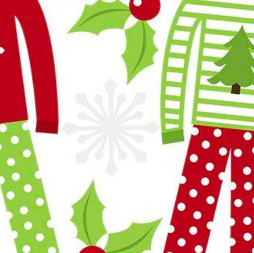Christma pajama clipart svg transparent library Christmas Pajama Party   Princeton NJ 08542   PunchBugKIDS svg transparent library
