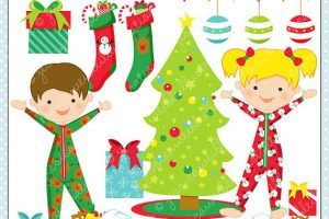 Christma pajama clipart clip art free library Christmas pajama clipart 6 » Clipart Portal clip art free library